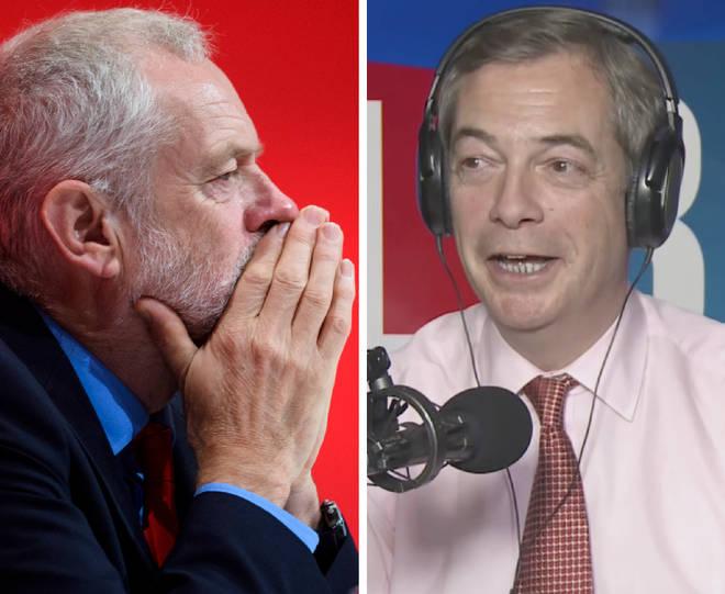 Jeremy Corbyn Nigel Farage
