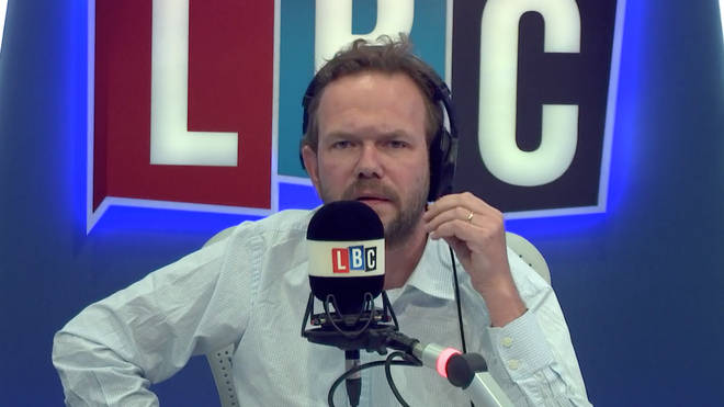James O'Brien angry