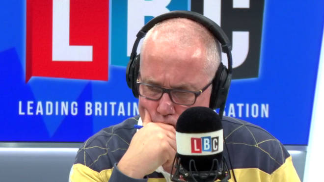 The heartbreaking call sparked a huge response from LBC listeners