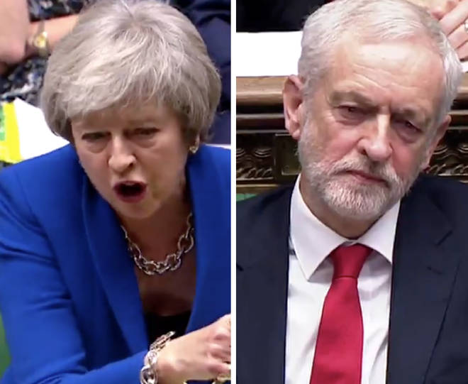 "Did Jeremy Corbyn call Theresa May a ""stupid woman""?"