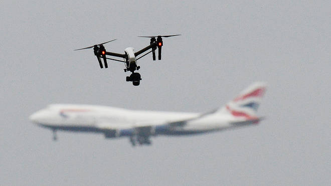 A drone forced Gatwick Airport into shutdown for over 30 hours
