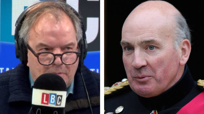 Matt Frei and Lord Dannatt