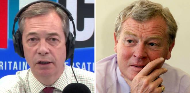 Nigel Farage and Paddy Ashdown