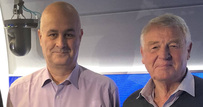 Iain Dale and Paddy Ashdown