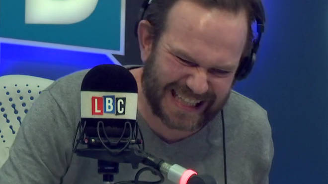 James O'Brien ended up laughing at Pete's attempt to give an example