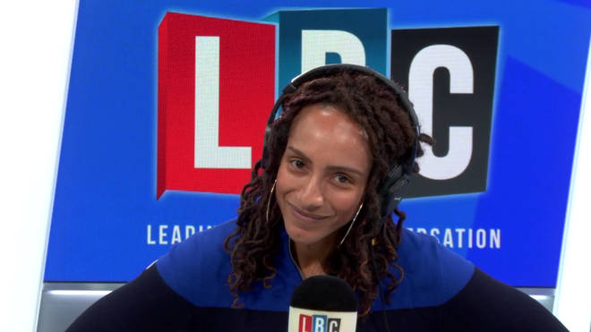Afua Hirsch was in a heated row over EU migrants