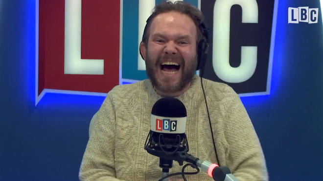 James O'Brien response to a caller hanging up on him