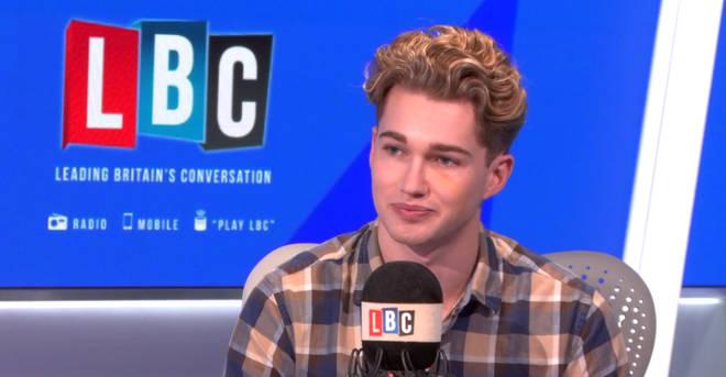 AJ Pritchard spoke to LBC about his nightclub attack