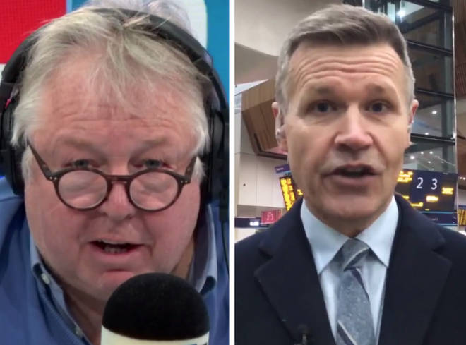 Nick Ferrari grilled Robert Nisbet as rail fares rose by an average of 3.1% in England and Wales