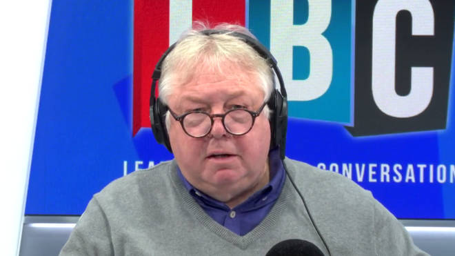 Nick Ferrari ended up hanging up on his guest