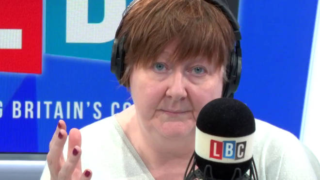 """No, you listen!"" Shelagh gets tough will caller during migrant row"