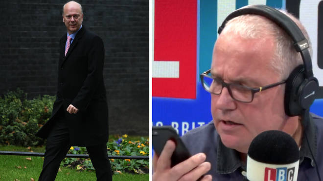 Eddie Mair spoke to Siri instead of Chris Grayling