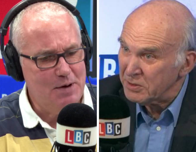 Sir Vince Cable spoke to LBC listeners on Friday