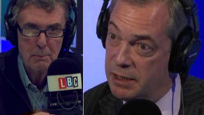John Stapleton spoke to Nigel Farage