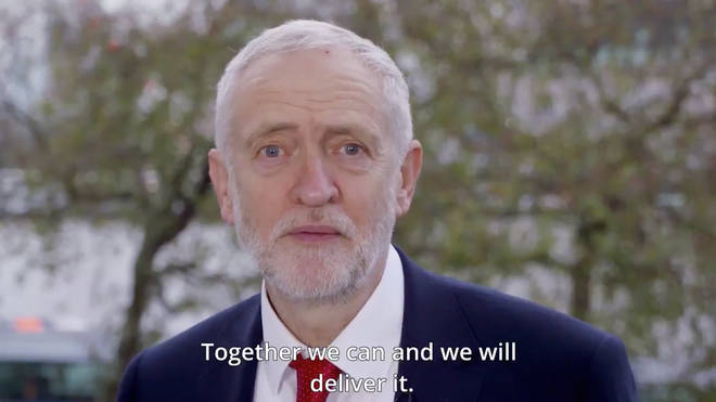 Jeremy Corbyn's New Year Message