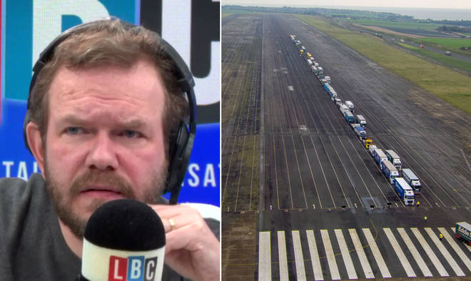 James O'Brien heard about the Brexit customs dress rehearsal