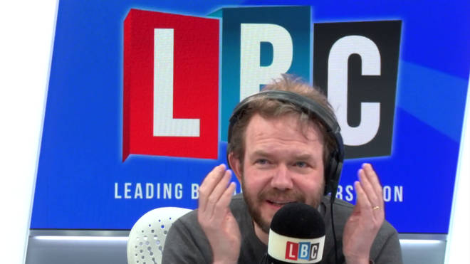 RJ had James O'Brien sitting on the edge of his seat.