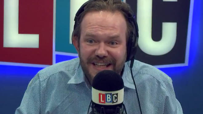 James O'Brien didn't take long to prove this caller wrong