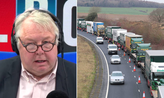 Nick Ferrari spoke to Ian Baxter, chairman of Baxter Freight