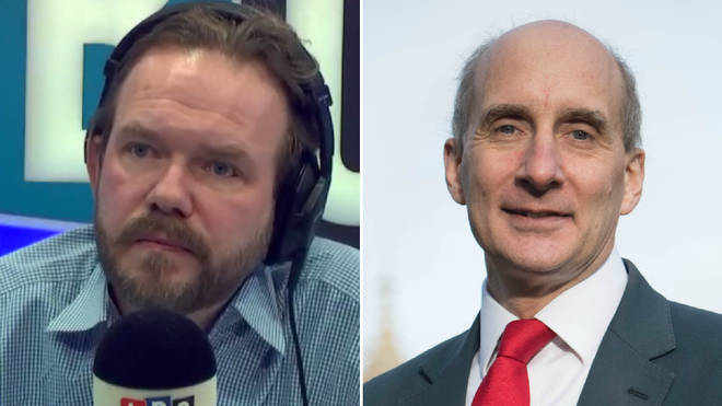 James O'Brien was concerned by what Lord Adonis said in his resignation letter