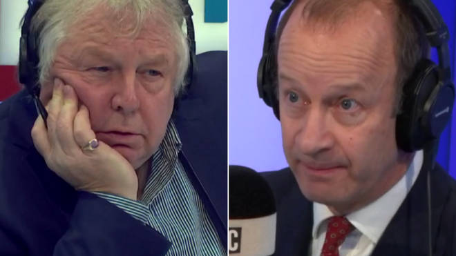 Henry Bolton spoke to Nick Ferrari live on LBC
