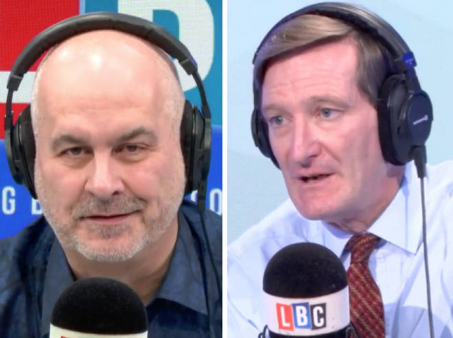 Dominic Grieve came under fire from Iain Dale after rebelling against the government