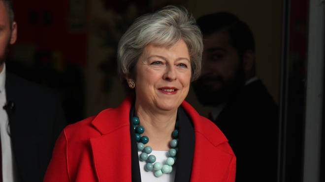 Theresa May, who suffered another defeat in parliament