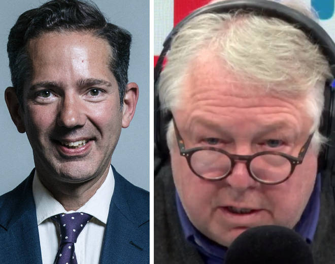 Jonathan Djanogly came under fire from Nick Ferrari on Wednesday morning
