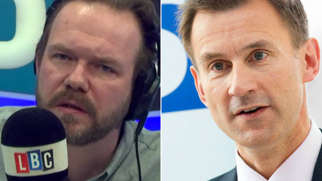 James O'Brien had an important question on the NHS