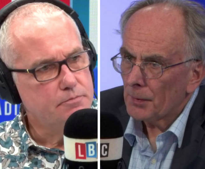 Eddie Mair asked Peter Bone whether he'd bet on Brexit day happening