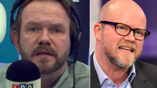 James O'Brien had strong words for Toby Young