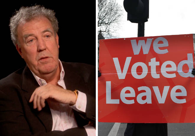 "Jeremy Clarkson branded Brexit voters ""coffin-dodging idiots"""