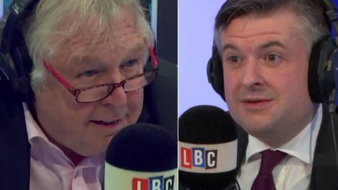 Jonathan Ashworth spoke passionately about the NHS to Nick Ferrari