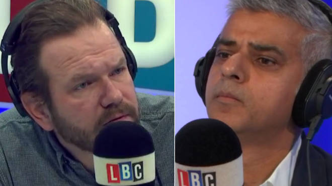 James O'Brien was tough on Sadiq Khan's record on knife crime