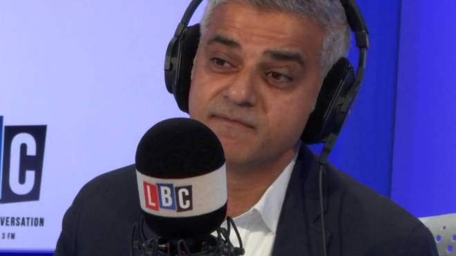 Sadiq Khan was not prepared to read Toby Young's tweets out on air
