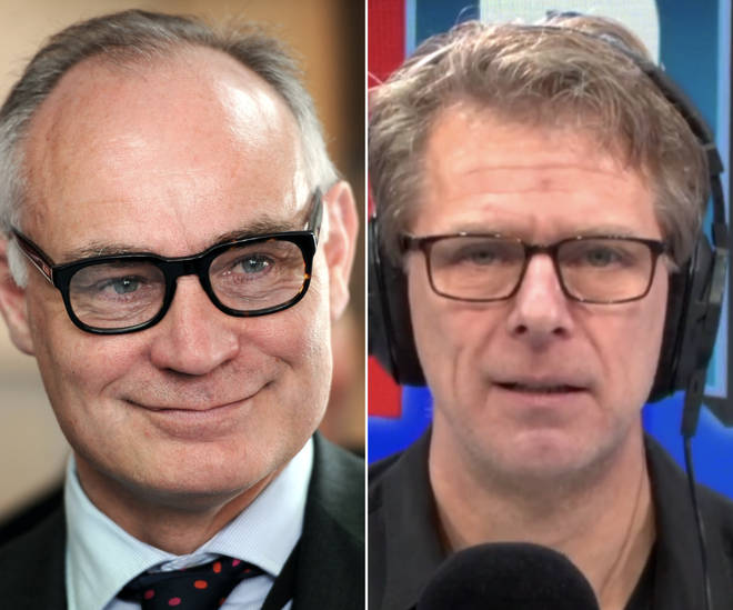 Crispin Blunt told Andrew Castle he thought the Conservatives would win a general election.
