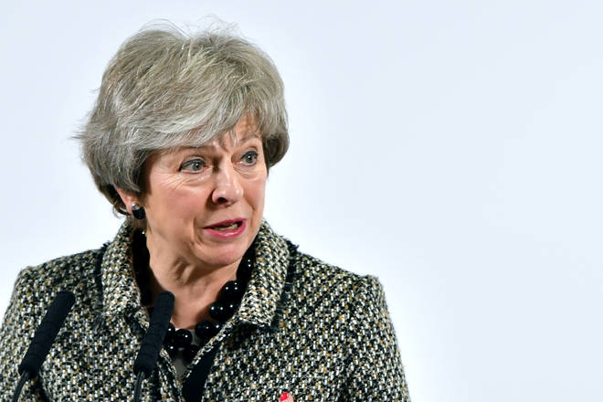 """Theresa May has warned MPs that not delivering on Brexit would be a """"catastrophic breach of trust in our democracy"""""""
