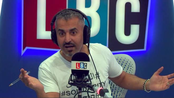 Maajid Nawaz says Jeremy Corbyn is a closet Brexiteer Photo: LBC