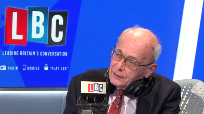 Lord Kerr in the LBC studio