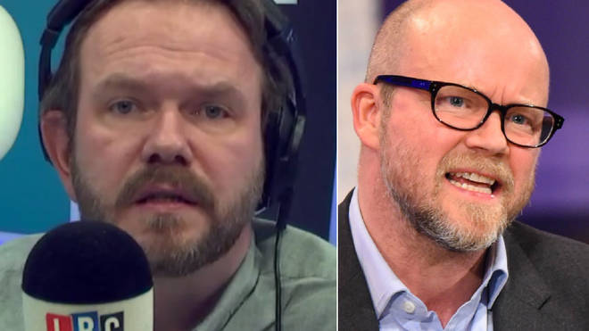 James O'Brien kept on asking the government serious questions over Toby Young