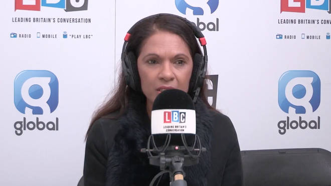 Gina Miller spoke to LBC as Jeremy Corbyn launched a no confidence debate