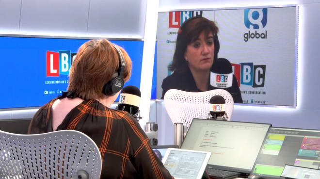 Shelagh Fogarty spoke to Nicky Morgan, live from LBC's studio in Westminster