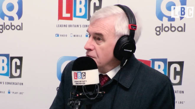 John McDonnell speaks to LBC