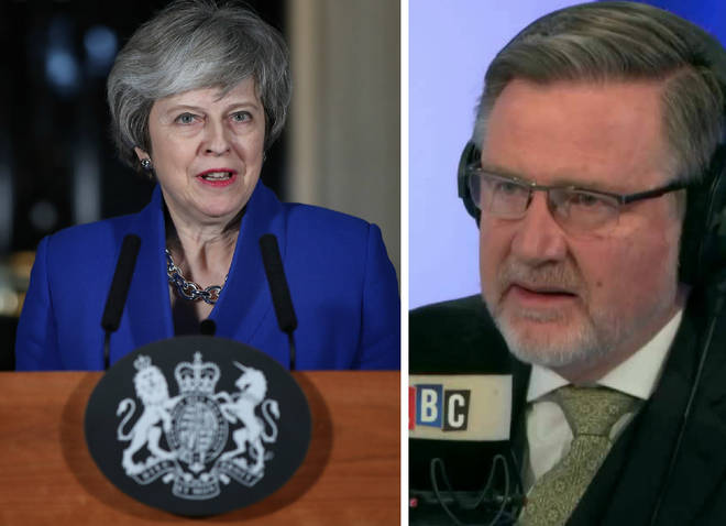 "Barry Gardiner likened a no-deal Brexit to ""blowing our own brains out"""