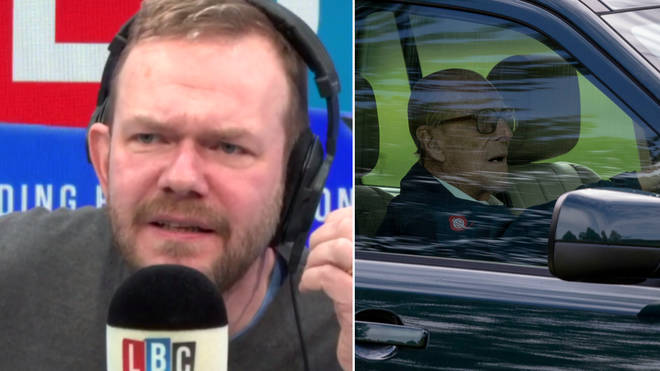 James O'Brien heard a remarkable call about Prince Philip, shown here in a file image