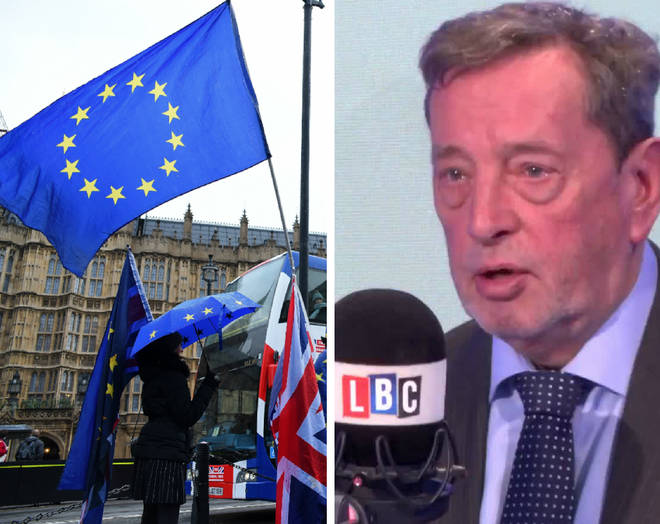 Lord Blunkett says a second referendum could be held by May