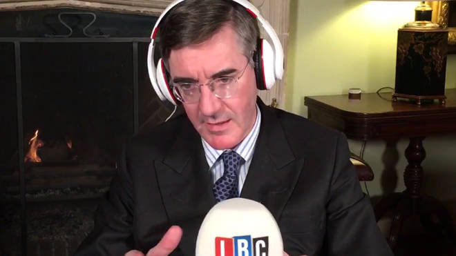 Jacob Rees-Mogg hosts an LBC phone-in on Friday evenings