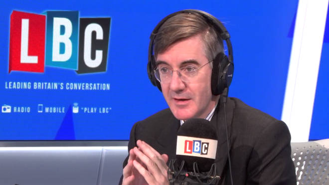 Jacob Rees-Mogg was critical of the government's policy on EU citizens