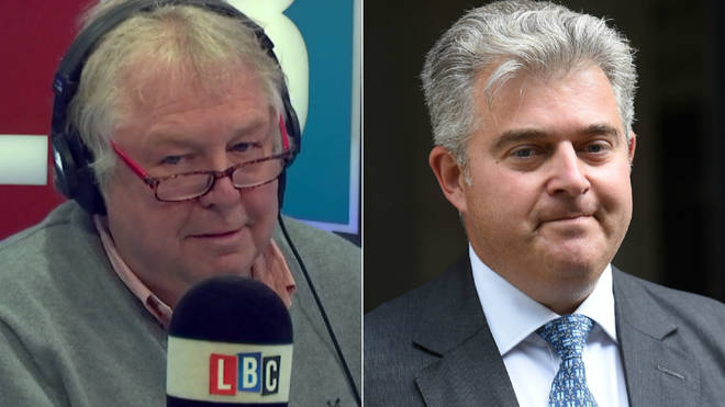 Nick Ferrari was not buying Brandon Lewis's claims