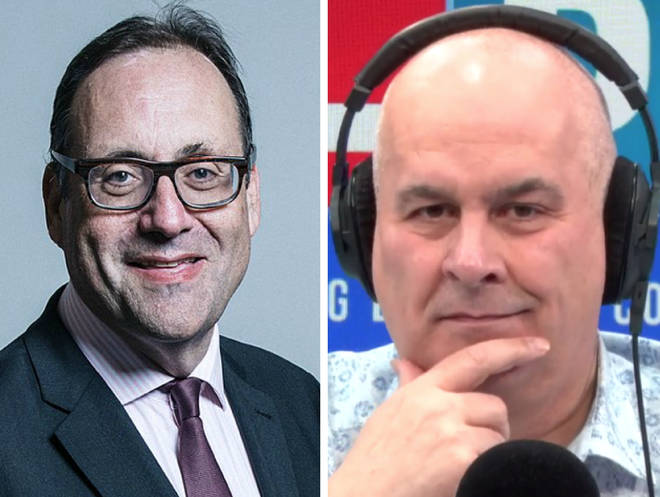 Richard Harrington's honesty appeared to stun Iain Dale